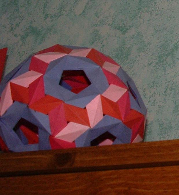 Jim Planks Origami Page Modular